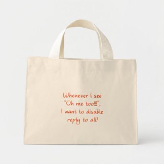 Reply to all  (sq) bag