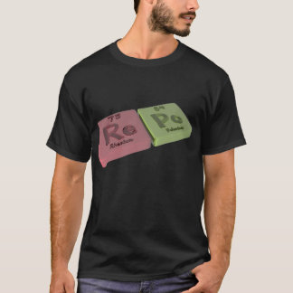 Repo as Re Rhenium and Po Polonium T-Shirt