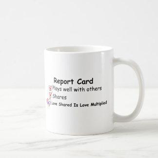 Report Card Coffee Mug