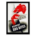 Report Dog Bites Card