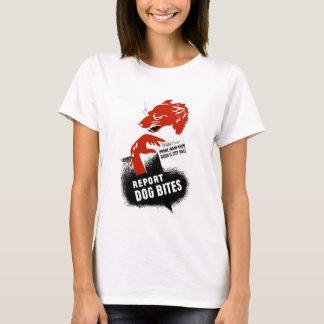 Report Dog Bites -- WPA T-Shirt