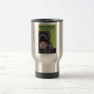 Report Dogfighting Travel Mug
