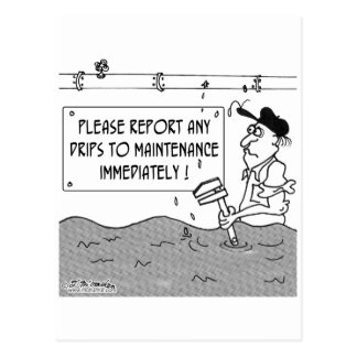 Report Drips ASAP Postcard