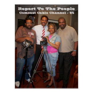 Report To The People - Television Show Poster