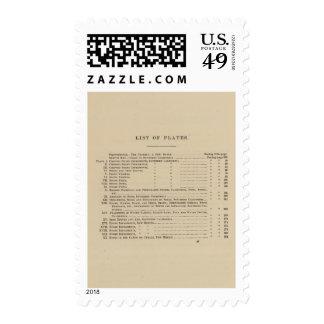 Report US Geog Surveys Vegetation Index Postage Stamp