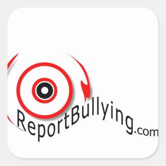 Reportbullying.com Square Sticker