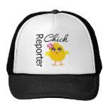 Reporter Chick Trucker Hat