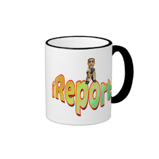 Reporter Ringer Coffee Mug