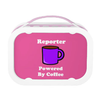 """""""Reporter"""" Powered by Coffee Lunch Box"""