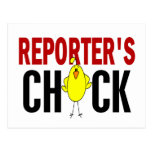 REPORTER'S CHICK POST CARD