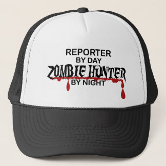 Reporter Zombie Hunter Trucker Hat
