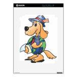 Reportero del perro de la tierra iPad 2 skins