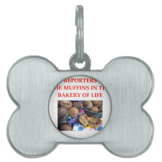 REPORTERS PET TAG