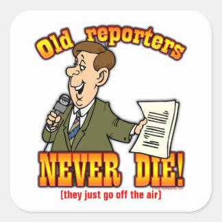 Reporters Sticker