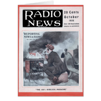 Reporting by Radio Greeting Card