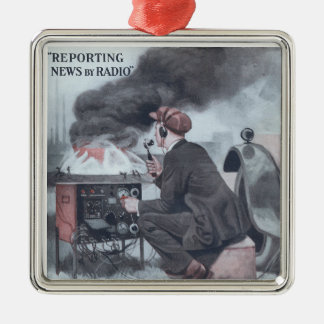 Reporting by Radio Christmas Tree Ornaments