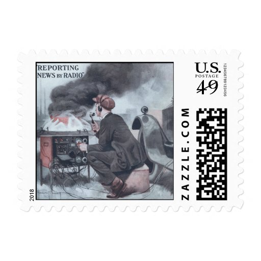 Reporting by Radio Postage Stamps