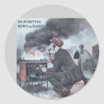 Reporting by Radio Stickers