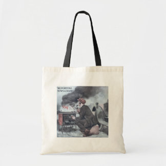 Reporting by Radio Tote Bag