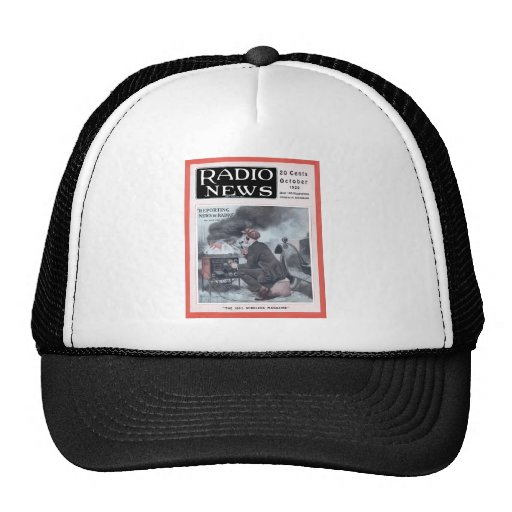 Reporting by Radio Trucker Hat