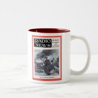 Reporting by Radio Two-Tone Coffee Mug