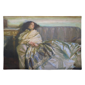 Repose by John Singer Sargent Cloth Placemat