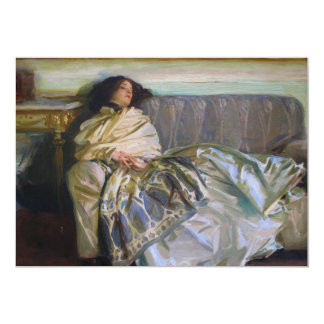 Repose by John Singer Sargent Announcement