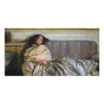 Repose by John Singer Sargent Picture Card