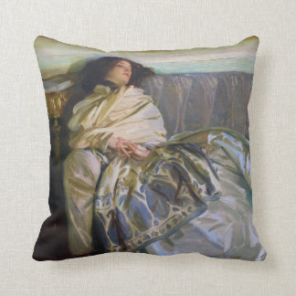 Repose by John Singer Sargent Pillow