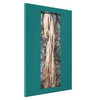 Repose in Wood Stretched Canvas Prints