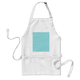 Reposedly Delightful Blue Color Adult Apron