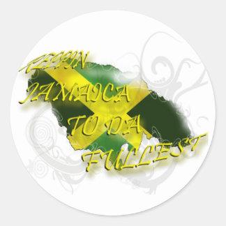 Reppin Jamaica al pegatina más completo de DA