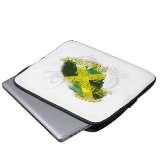 Reppin' Jamaica to the Fullest  Laptop Bag/Electro Laptop Sleeves