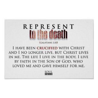 Represent 2 the Death (PosteR) Poster