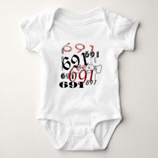 REPRESENT 691 BABY BODYSUIT