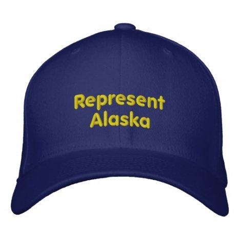 Represent Alaska Cap