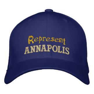 Represent Annapolis Cap
