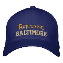 Represent Baltimore Cap