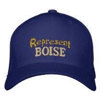 Represent Boise Cap