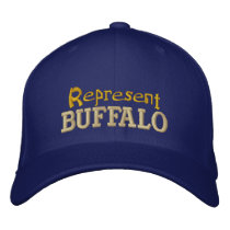 Represent Buffalo Cap