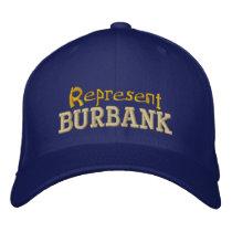 Represent Burbank Cap