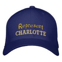 Represent Charlotte Cap