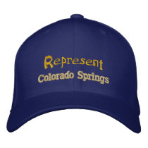 Represent Colorado Springs Cap