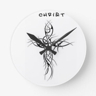 Represent cross round clock