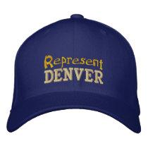 Represent Denver Cap