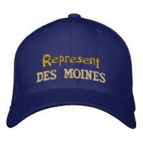 Represent Des Moines Cap