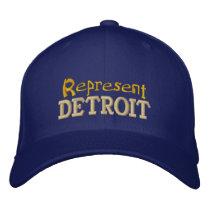 Represent Detroit Cap
