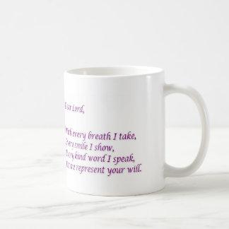 Represent His Will - Official Prayer Mug