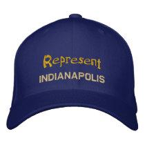 Represent Indianapolis Cap