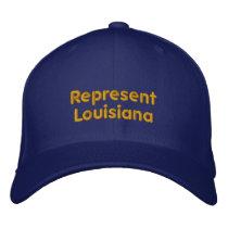 Represent Louisiana Cap